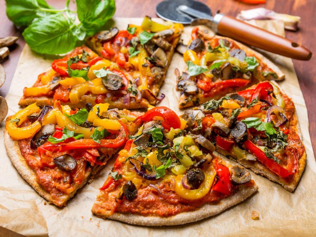 Вкусные рецепты вегетарианской пиццы
