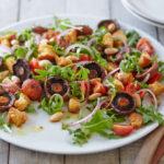 Вегетарианские салаты на праздничный стол: популярные рецепты