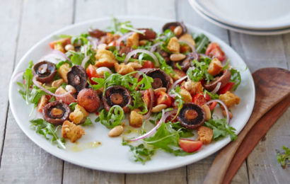 салат вегетарианский праздничный